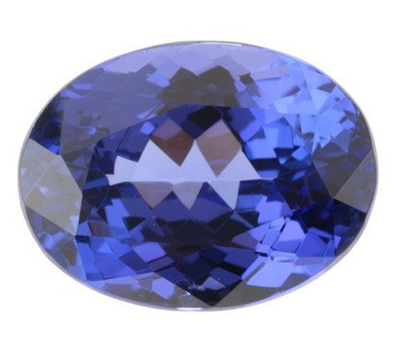 Colour Tanzanite: Lovely Burma Blue Color Oval Tanzanite Gemstone 5.67