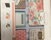 Becky Higgins Project Life 1/4  Partial Core Kit -COTTAGE LIVING edition - 144 cards - New release