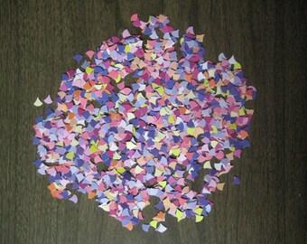 Reclaimed paper confetti - dewdrops