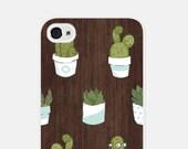 iPhone 6 Case - Succulent iPhone 5 Case - Wood iPhone 6s Case - Blue Wood iPhone 5s Case - Wood iPhone 5c Case - Cactus Phone Case - Cco