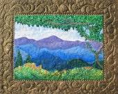 Blue Ridge Mountains,Spring wildflowers,Virginia Mountains,Skyline Drive,Wilderness landscape,Springtime mountain,Flame Bilyue