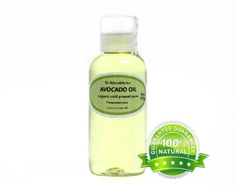4 OZ   Avocado Oil Cold Pressed Organic