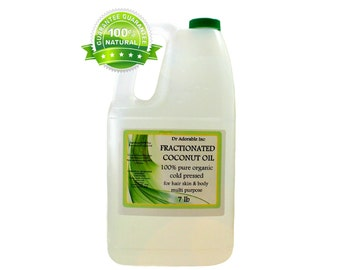 7 LB Organic Fractionated Coconut Oil