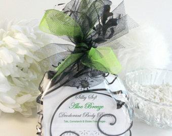 LAVENDER body powder refill 6 oz - natural deodorant - organic lavendar dusting powder by Bonny Bubbles