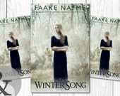 """Premade Digital Book eBook Cover Design """"WinterSong"""" Literary Fiction Young New Adult YA Romance Fantasy"""
