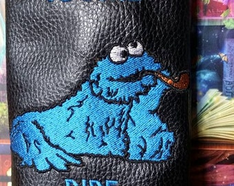 Cookie Monster pipe pouch