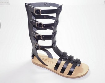 Greek Leather Sandals