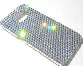 For New Samsung Galaxy Note 4 - Clear Crystal Diamond Rhinestone BLING Back Case handmade with 100% Crystals from Swarovski