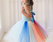 My Little Pony Inspired Halloween Costume or Birthday Dress Inspired Tutu Dress, Birthday Parties, or Dress Up