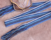 Wool Sash Woven by Hand, for Historic Costume or Everyday Use