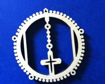 Pocket Rosary - Wood Blank
