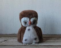 Rare Vintage R. Dakin & Co. Plush Owl