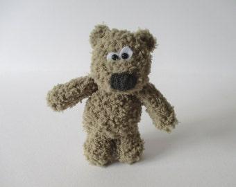 Fluffy Bear toy knitting patterns