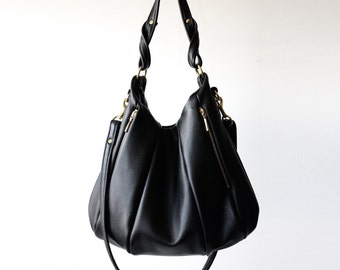 Soft Leather Handbag OPELLE Lotus Bag