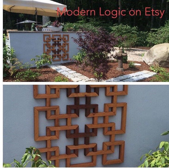 Items similar to garden trellis orchid and more wood for Wooden garden trellis designs