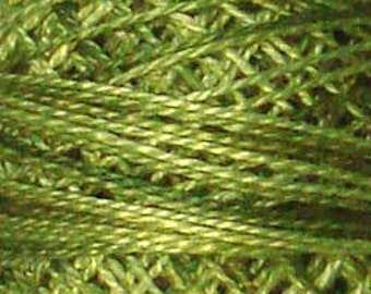 Size 12, O519, Valdani Perle Cotton, Green Olives, Embroidery Thread, Punch Needle, Embroidery, Penny Rugs, Sewing Accessory