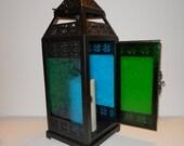 Morrocan Style Lace Lantern