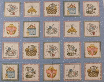 Marcus Bros Cat Cats Kitten Kittens Kitty Quilt Wall Hanging Fabric Folk Country Craft Block Panel 7 DESIGNS