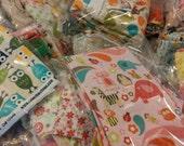 FABRIC Destash/ scraps bundle/fabric art/doll fabric/ scraps/remnants/grab bag / designer FABRIC/ snippets / remnants / crafting supplies