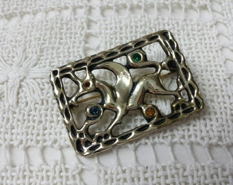 Sarah Coventry Griffin Brooch Hostess gift