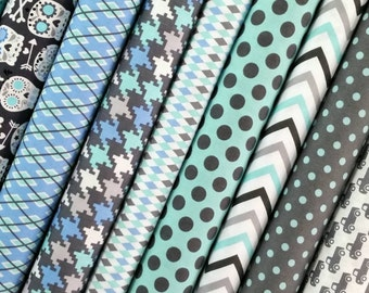 It's a Boy Thing Fat Quarter Bundle - Michael Miller Fabrics