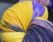 Merino/Cashmere/Nylon Special Delivery Sock Yarn High Twist 400 yds -Party Socks!