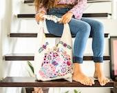 SALE Bohemian Handbag Saturday Market embroidered bag