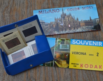 Vintage Souvenir Slides (7)  London, crown jewels, tower of london, tourist slides in package