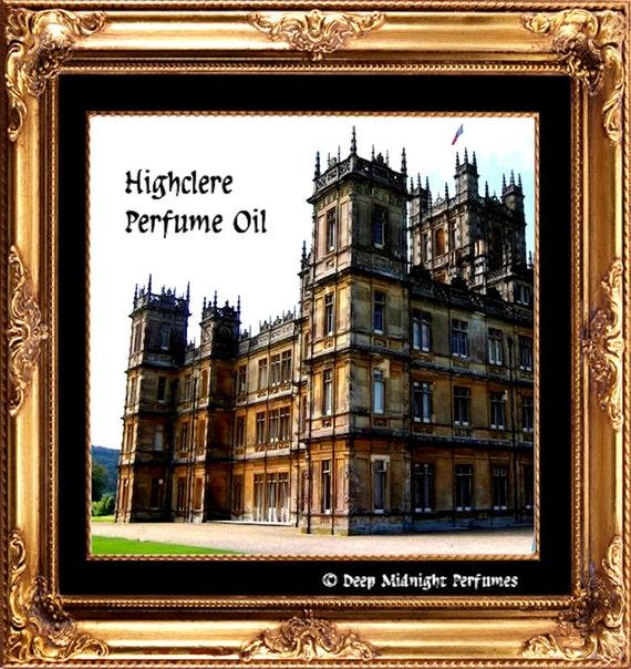 HIGHCLERE Perfume Oil -  Jasmine, Hyacinth, Bergamot, Greens, Wood - Edwardian Perfume - DOWNTON ABBEY Inspired