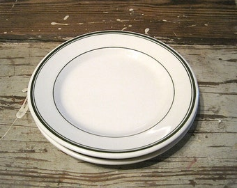 Two Sterling China Restaurant Ware Dessert or Bread & Butter Plates