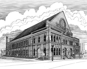 The Ryman Auditorium in Nashville TN