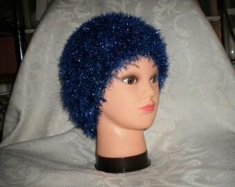 Sparkling Blue Carolyn Chemo Cap - Free Shipping