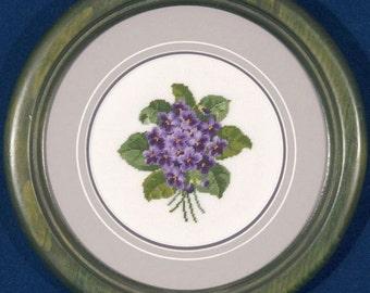 Violets - Jean McIntosh - Chart 106