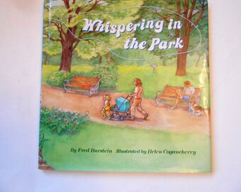 Whispering in the Park, a Vintage Children's Book, Fred Burstein