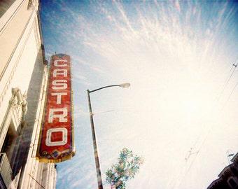 The Castro San Francisco - Original Lomo Art Photograph - lens flare photography print