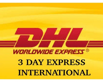 Shipping Upgrade to EXPRESS INTERNATIONAL (Canada, UK, Europe ane Middle East)(6-10 business days)