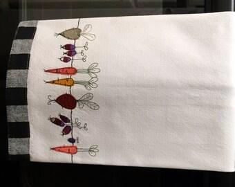 Kitchen Towel - Garden Veggies