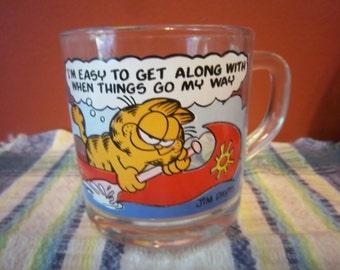 Garfield Coffee Mug 1978 Jim Davis Garfield and Odie