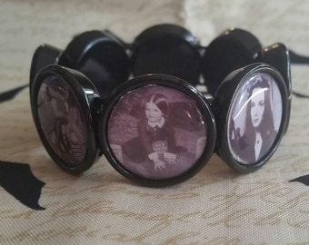 Addams family inspired bracelet