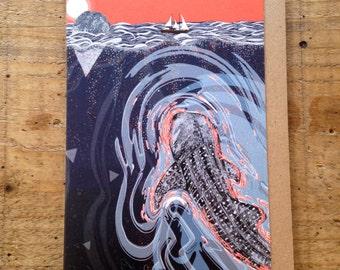 Beneath // Greeting Card