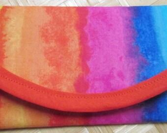 Wallet Money clip, bags & purses, 7.5 x 3 Clutch Envelope, Gay Pride Social Concerns Rainbow Colors Pouch coin Purse Handbag Accessory