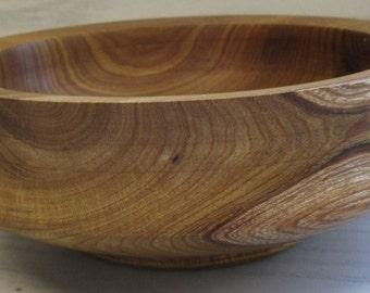 Wooden Laburnum Bowl