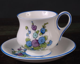 Crown Staffordshire, Gainsborough Cup and Saucer, England