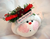 Housewarming Gift Ornament Christmas House Townsend Custom Gifts Personalized Handmade Address Tag