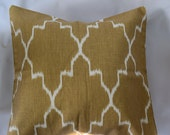 Lacefield Monaco in Straw pillow covers