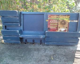 Mail Organizer---Magazine Holder--Kitchen Organizer--Home Decor--Kitchen Decor