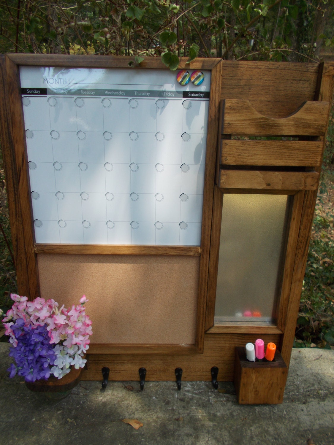 Kitchen Message Board Command Center Etsy