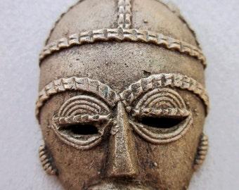 African Handmade Brass Pendant