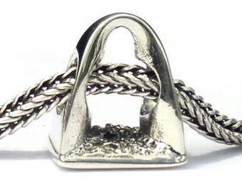 St Louis Arch Sterling Silver Landmark Bead LM024