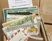 SALE! Custom Letter Writer's Stationery Box Set - fun gift for your letter writing pals!